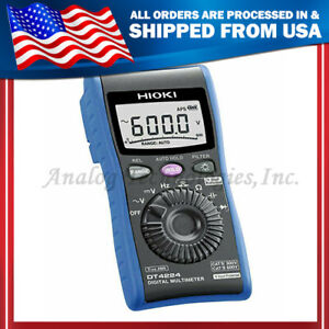 Hioki Digital Multimeter Without Power Detection Function Dt4224 Made In Japan