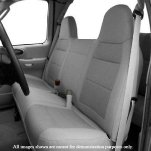 Dark Grey Front Bench Seat Cover Molded Headrest F Series Automotive Thick