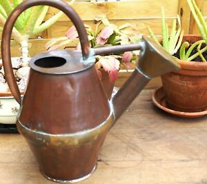 Stunning French Antique 19th Centuy Copper Watering Can