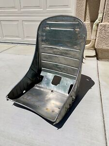 Original Wwii Stainless Steel P 38 Aircraft Bomber Seat Rat Rod Scta Rat Rod