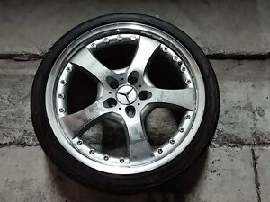 Lorinser Lm5 19 X 8 5 For Mercedes Benz With New Tire 245 35 z19