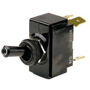 Cole Hersee Lighted Tip Toggle Switch Spdt On off on 5