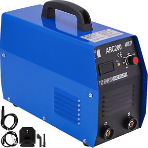 200amp Stick arc mma Dc Inverter Welder Igbt Electric Welding Machine 110 220v