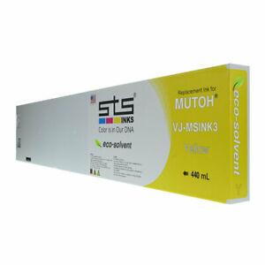 440mil Mutoh Eco solvent Ink Yellow
