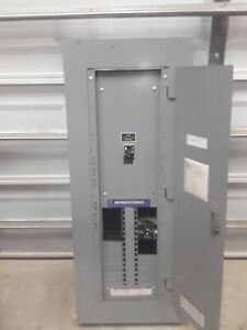 Square D 250 Amps 200a Main 600 347 Volt Nf Panel 480 277v 3 Phase 4 Wire 7207