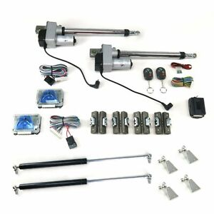 Automatic Gullwing Door Conversion Kit With Remote 2 Door Autoloc Autgwkitdd