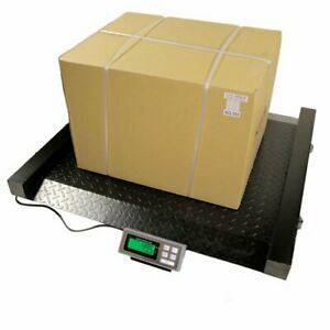 2000 Lb X 0 5 Lb Lds Drum Scale 52 w X45 h Heavy Duty With Back Lit Lcd