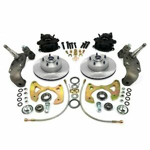 1958 1964 Chevy Full Size Big Brake Conversion 5x4 75 Parts Front Suspension 350