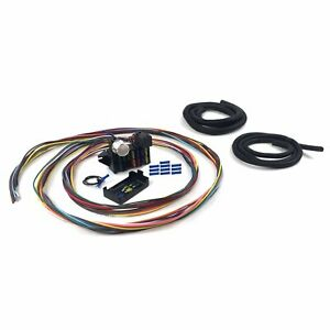 Ultimate 12 Fuse 12v Conversion Wire Harness 48 1948 Ford Convertible Rod Hot