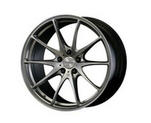 Rays Volkracing G25 19x8 5j 35 Silver Set Of 4 For Lexus Is From Japan