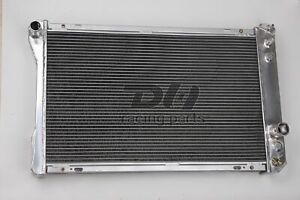 3 Row Aluminum Radiator For 1982 1992 Chevy Camaro Firebird Trans Am 91 90 89