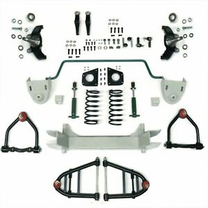 Mustang Ii 2 Ifs Front End Kit For 28 47 Ford W Shocks Springs Swaybar Hot Rod