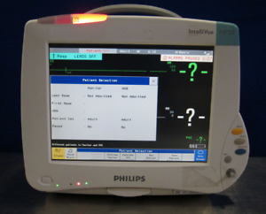 Philips Intellivue Mp50 M8004a Patient Monitor Vital Signs W 3001a Module Mp 50