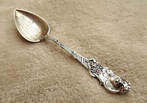 Cherub By Watson 4 1 4 Sterling Pointed Bowl Souvenir Spoon Rare