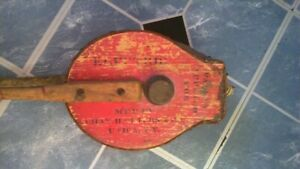 Utica New York Electric Wooden Leather Bee Smoker Mfd By Chas H Childs