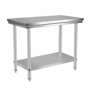 24 X 48 Stainless Steel Kitchen Work Table Commercial Restaurant Table Xv