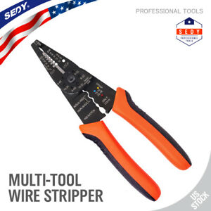 8 5 Multipurpose Electrical Wire Stripping Tool Crimper Pliers Insulated Cutter