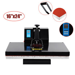 16x24 1800w Clamshell Heat Press Transfer T shirt Sublimation Machine Ridgeyard