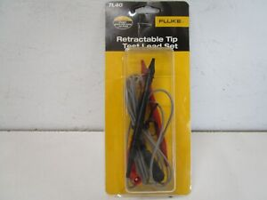 Fluke Tl40 Test Leads Retractable Tip 600 V 3 A Rated