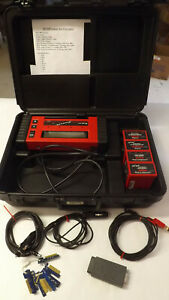 Snap On Mt2500 Diagnostic Scanner Case 4 Cartridges 2001 Cables Obd Ii 9 Keys