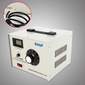 10amp Variable Autotransformer Voltage Transformer Converter 1000w High Quality