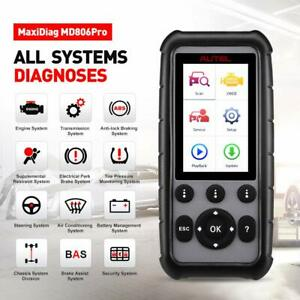 Obd2 Scanner Autel Maxidiag Md806 Pro Automotive Scan Tool All System Diagnosis