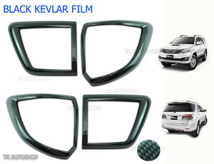 Back Tail Lamp Light Carbon Cover For Toyota Fortuner Suv 4x2 2012 2015