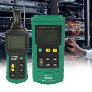 Ac dc 12 400v Wire Tester Network Phone Cable Detector Locator Meter Line Finder