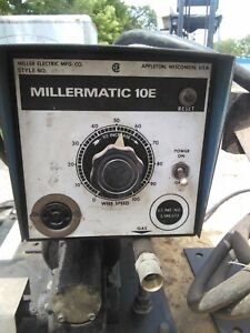 Miller Wire Feeder 10e And Compakomatic Welder