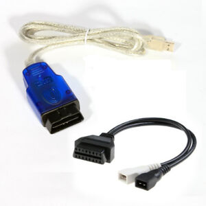 Ftdi Ft232rl Vag Usb Diagnostic Cable For Use 2x2 Cable For Vcd Lite Us Seller