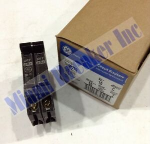 Ge General Electric Thqp230 New Circuit Breaker 2 Pole 30 Amp 240v box Of 10