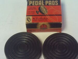 Vintage Replacement Anchor Slip On Pedal Pads 30 S 40 S Ford Lincoln Mercury