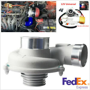 Car Motorcycle Electric Turbo Supercharger Turbocharger Improve Speed Fuel Saver