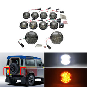10packs Lens Complete Led Lamp Upgrade Kit For Land Rover Defender 90 16 Smoked