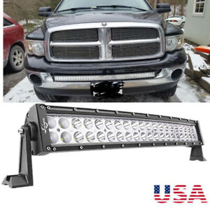 32 180w Curved Led Light Bar Spot Flood Driving Lamp For Off Road Jeep Trucks
