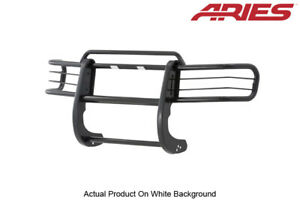 98 00 Ford Ranger Black Semi gloss Steel Front Grille brush Guard 1 Piece Aries