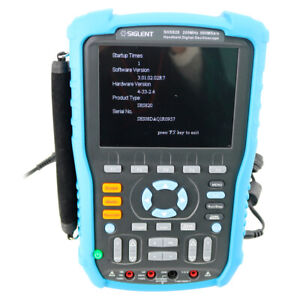 Siglent Shs820 Handheld Digital Oscilloscope 200mhz 1gsa s 2 Channels