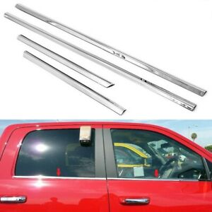 For 2005 2015 Nissan Armada Stainless Steel Chrome Window Door Sill Trims
