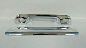 2004 2012 Chevrolet Colorado Canyon Tailgate Chrome Handle Overlay Ccitgh65206