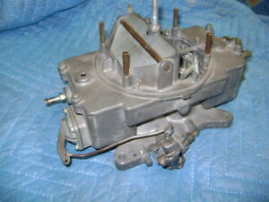 Ford Autolite 4100 4 Bbl Carb Shelby 1 23 Venturi 289 Hipo Supercharged