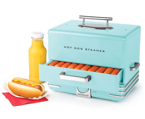 Hot Dog Steamer Warmer Cooker Electric Machine Food Commercial Bun Steaming New
