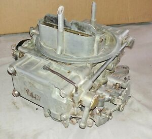 Ford Ecz Ad 4 Barrel Carburetor Holley 4160 Carburetor List 1273 1 Date 761