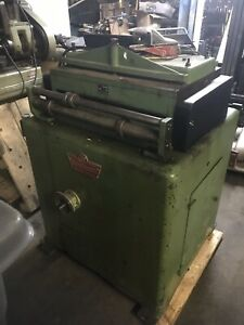 Cooper weymouth 24 Straightener Flattener Coil Punch Press Feed