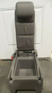 2005 2010 Honda Odyssey Rear Middle Center Jump Seat Leather Gray