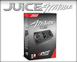 Edge 21402 Juice With Attitude Cs2 For 2006 2007 Gmc chevy 6 6l Duramax Lly lbz