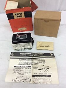 Nos Echlin Vr 23 1946 1955 Packard Studebaker Voltage Regulator Made In Usa