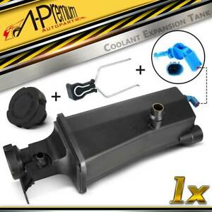 Radiator Coolant Overflow Expansion Tank Bottle Reservoir W Sensor W Cap For Bmw