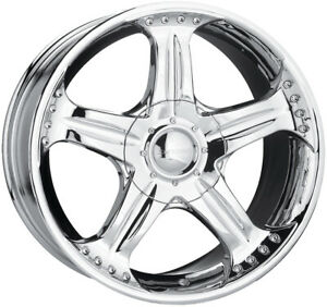 Compatible 1998 2002 Honda Accord 5 Lug 6 Cyl Chr Chrome 18 18 x7 5 Brand New