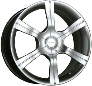 Compatible 1998 2002 Honda Accord 5 Lug 6 Cyl Hyperblack Hb 9x114 3 Brand New