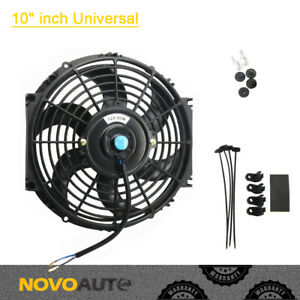 10 Inch Universal Racing Electric Radiator Engine Cooling Fan Pull Push 12v